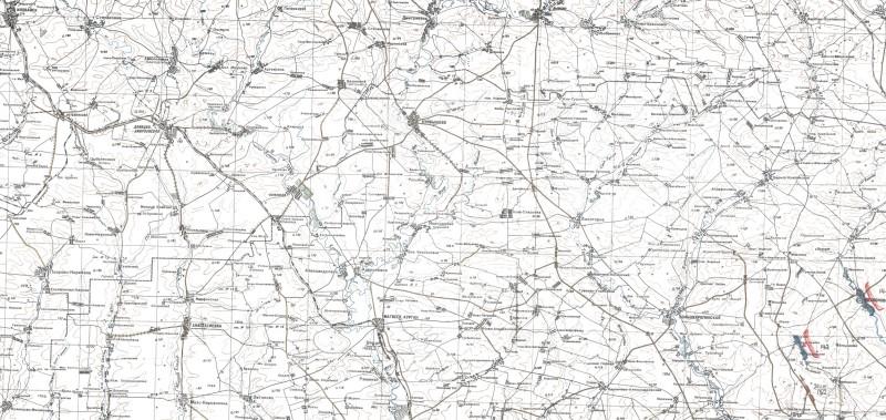 Северный фланг наступления Южного фронта