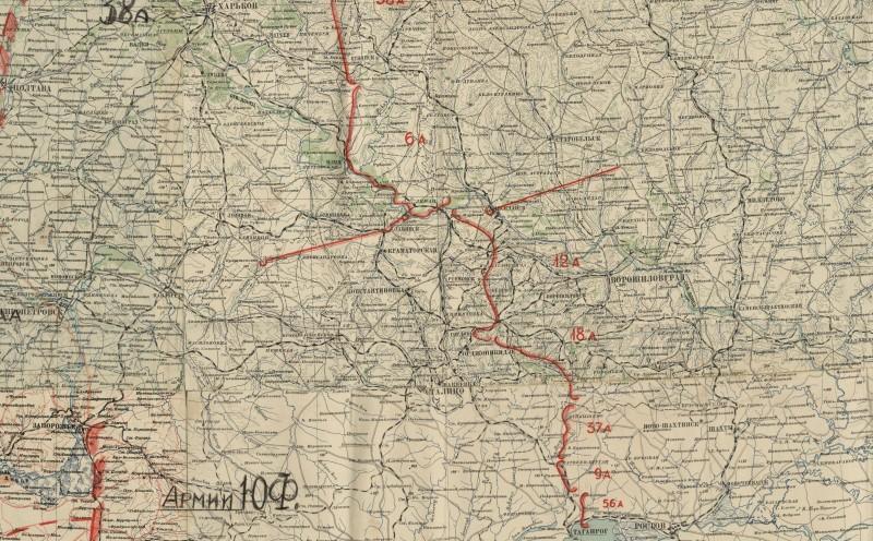 Район от Харькова до Ростова