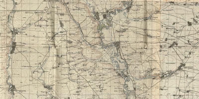 Район позиционных боев 2 гвардейской Армии