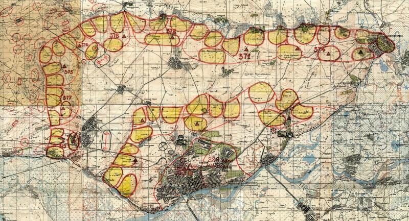 Карта Ростовского УР (М1:100000 фрагмент).