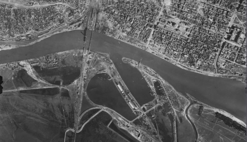 Аэрофотосъемка Ростовского моста
