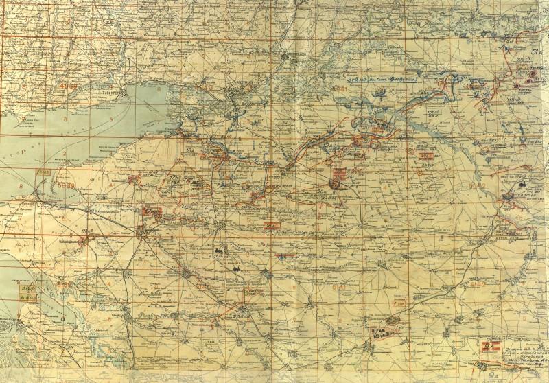 Положение войск Южного фронта на 30 июля 1942