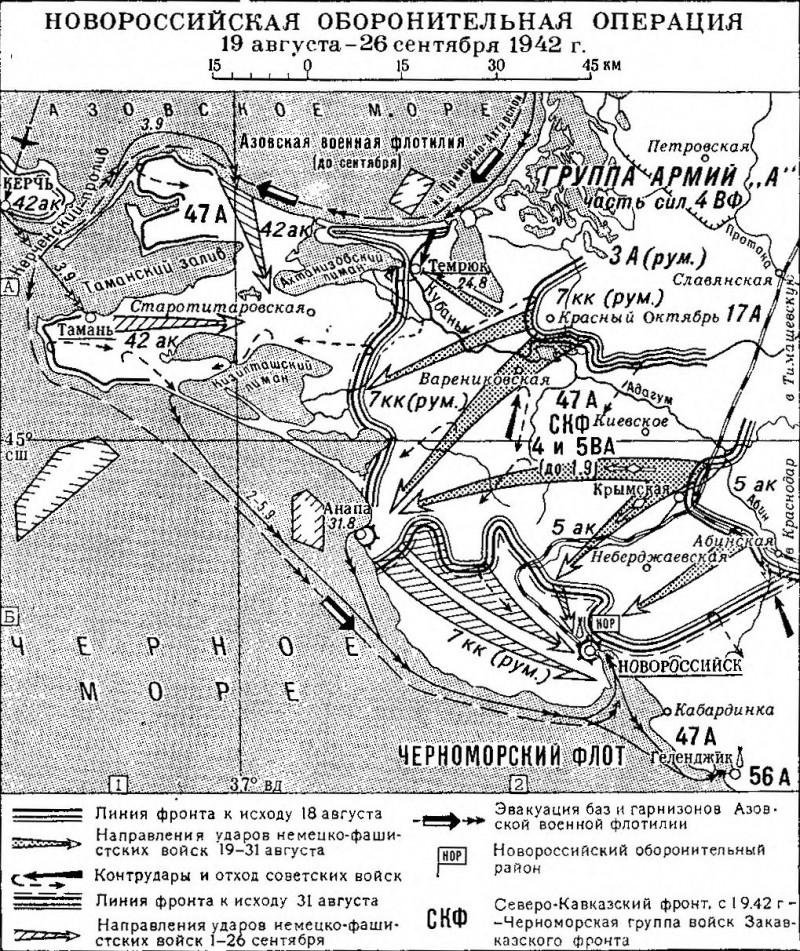 Новороссийская оборонительная операция